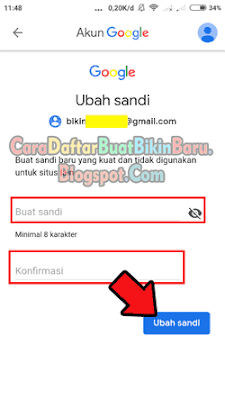 Cara Mengganti Password Gmail yang Lupa di Hp Android Langsung ...