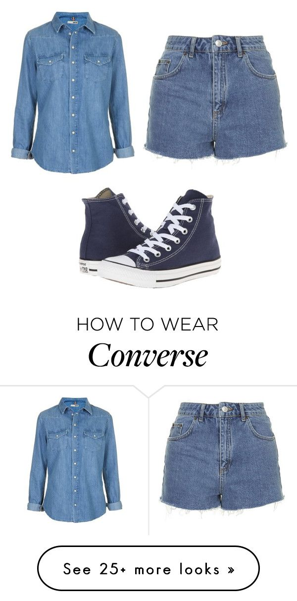 """Untitled #3366"" by clarry-sinclair on Polyvore featuring Topshop and Converse"