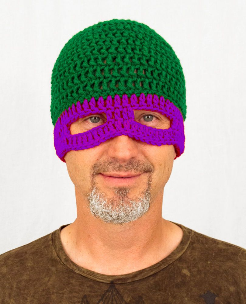 4bbb29e2bb8 TMNT Mask Hat