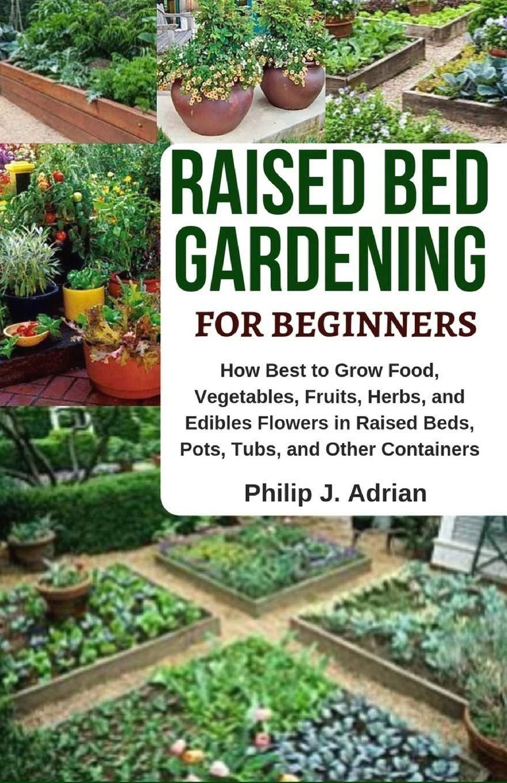 A good raised garden bed idea for a vegetable garden. It