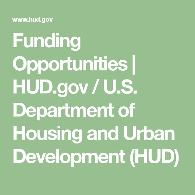 Funding Opportunities Hud Gov U S Department Of Housing And Urban Development Hud Management Information Systems Economic Development Study Program