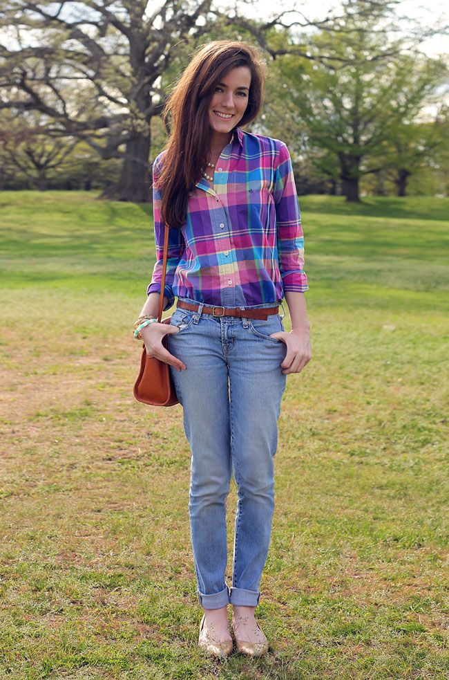 02090eb32df Perfect plaid for spring Preppy Look