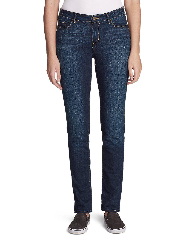 Women's Stayshape Straight Leg Jeans Slightly Curvy