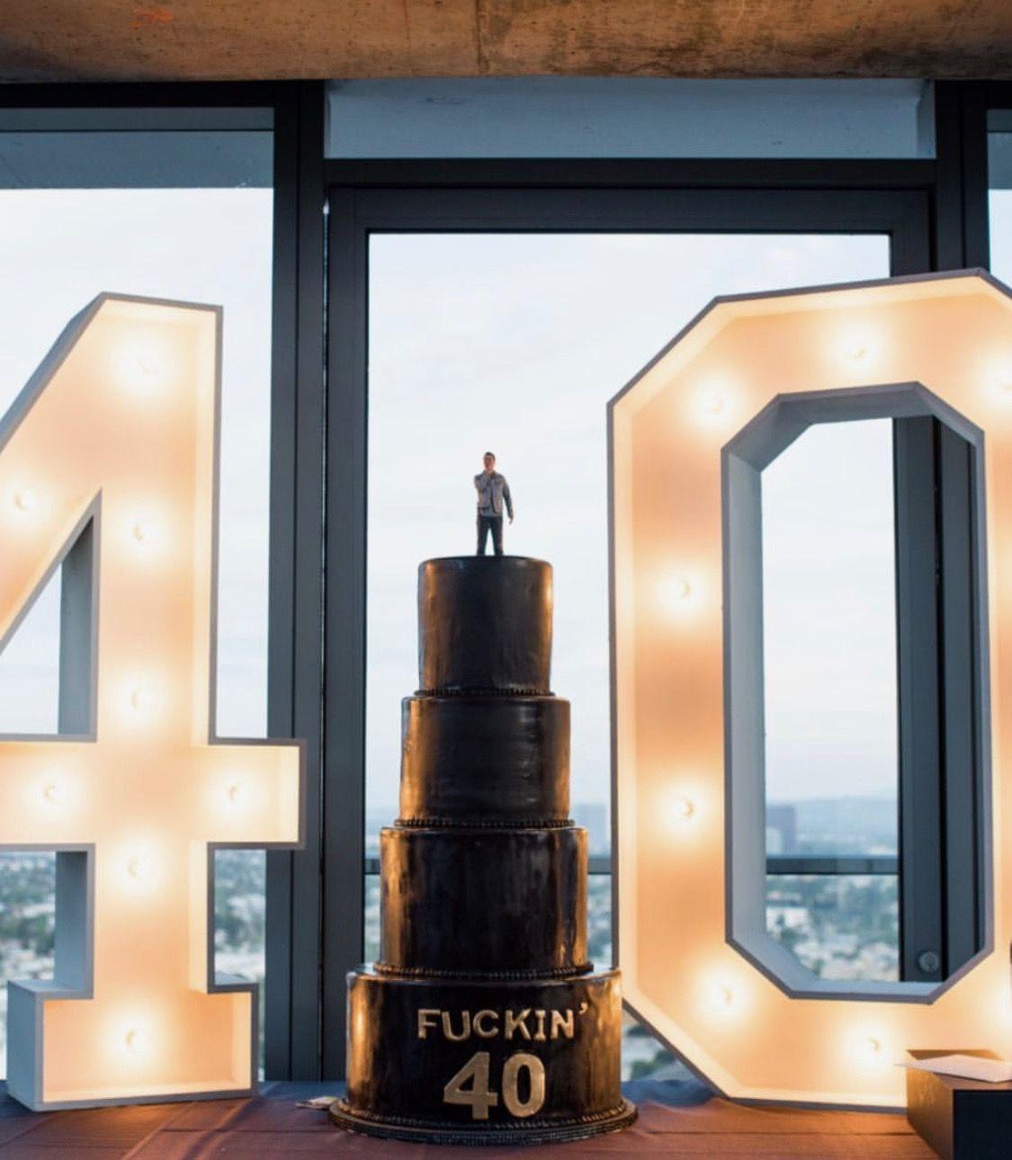 40 birthday cake for him 40th birthday cakes birthday