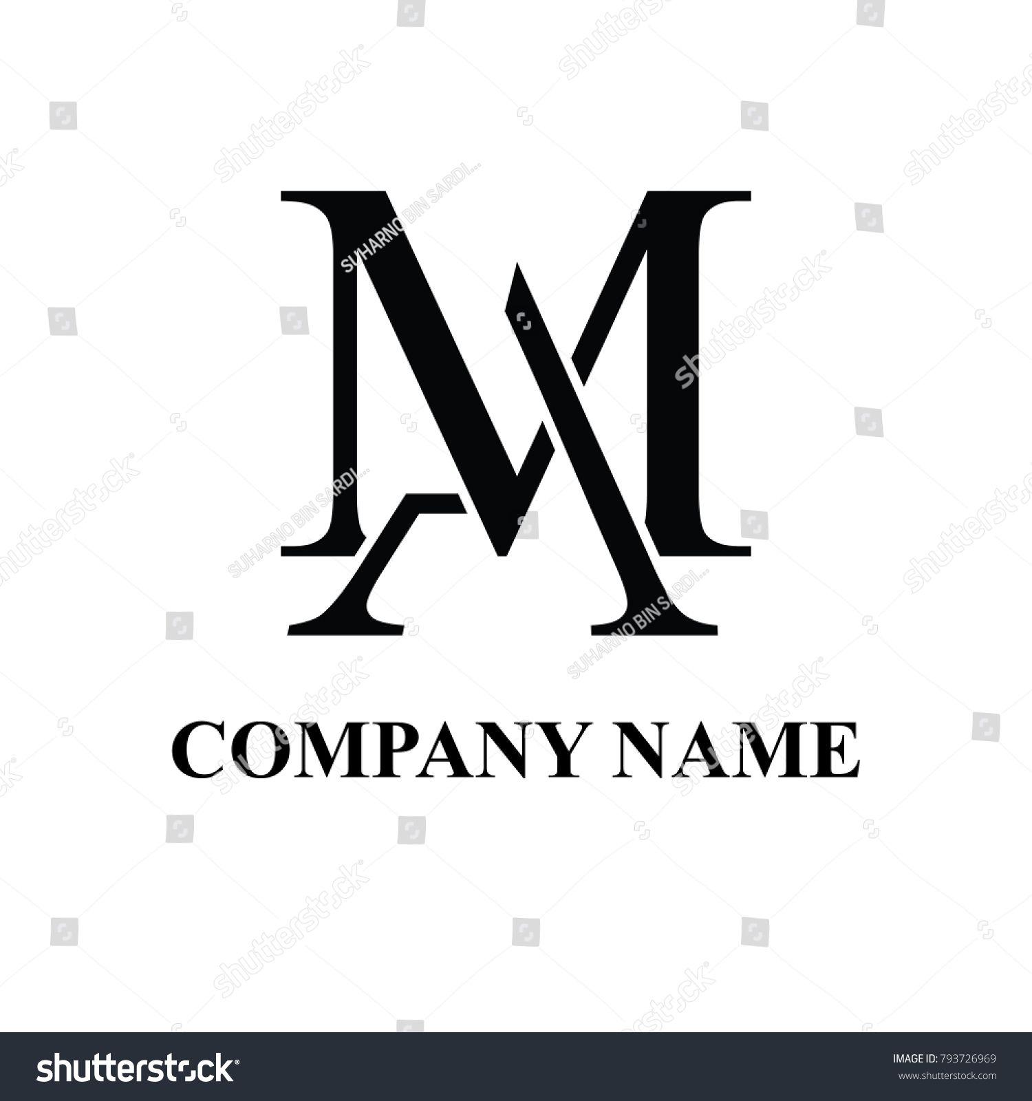 Am Initial Logo Design