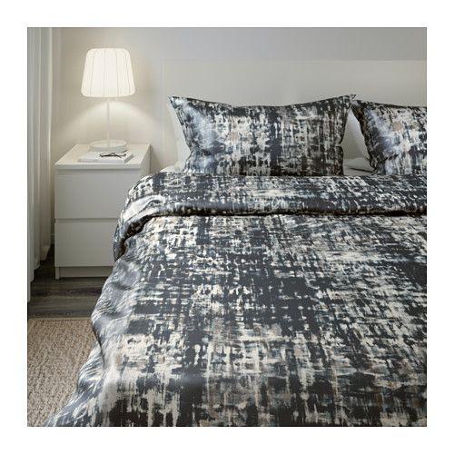 cheap skogslnn housse de couette et taies xx cm ikea with drap satin de coton ikea. Black Bedroom Furniture Sets. Home Design Ideas
