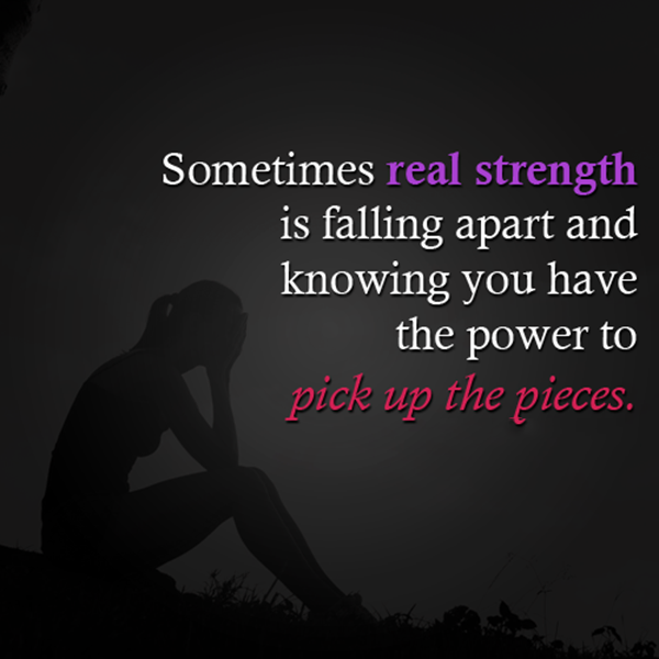 PICK UP THE PIECES