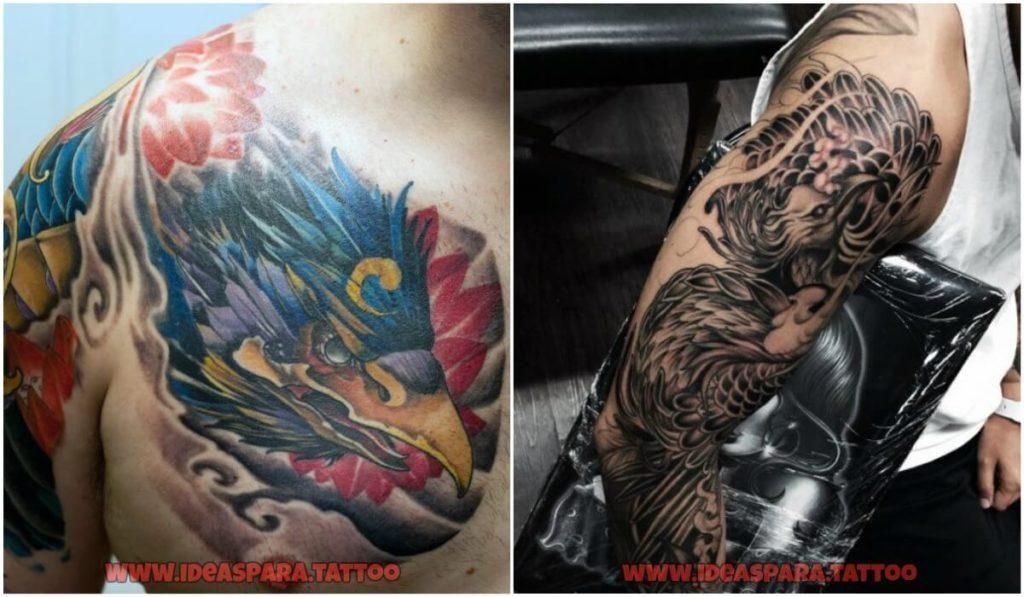 Tatuajes Hombre Ave Fenix tatuajes ave fenix - tatuajes para hombre. #tatuaje ave fénix para