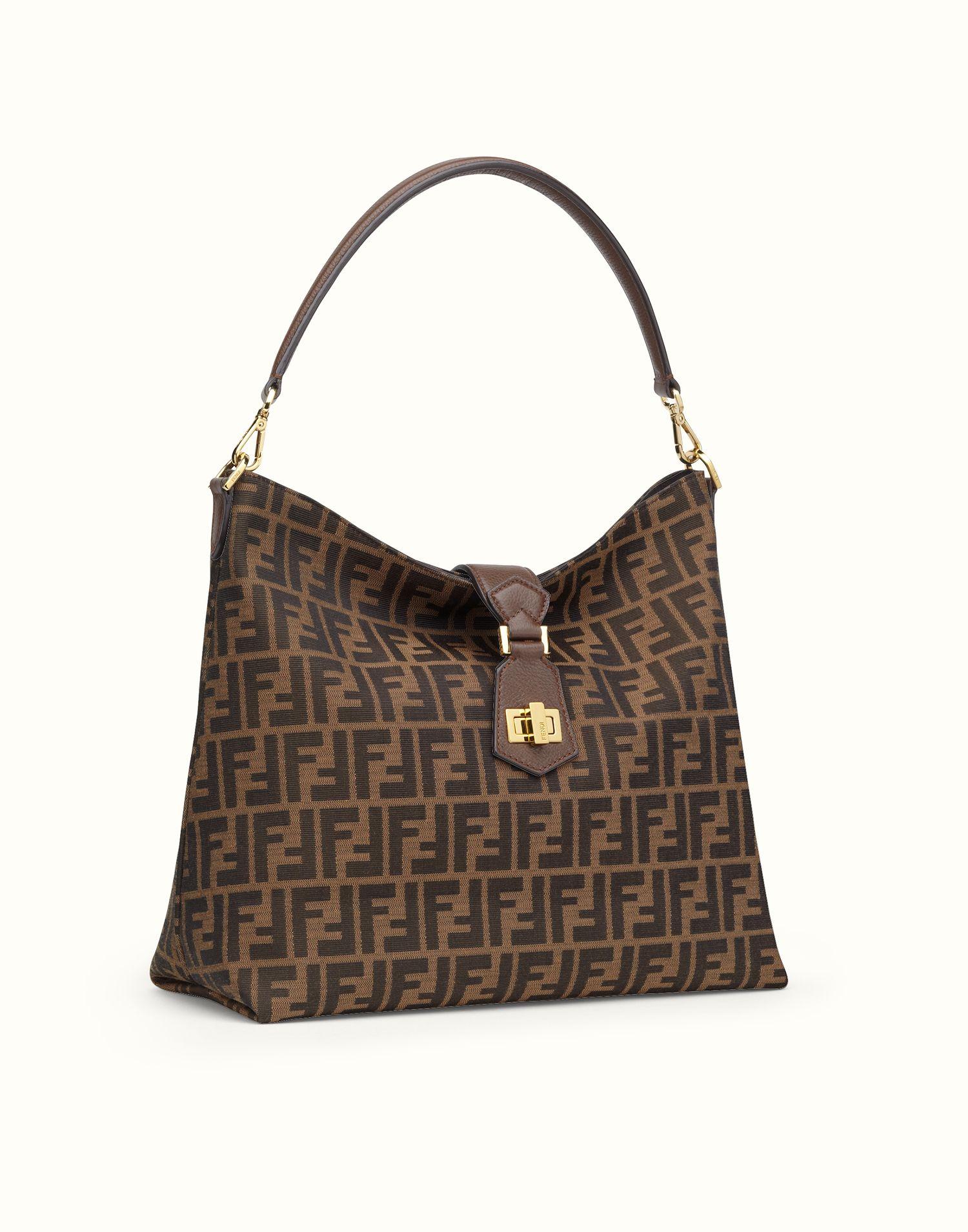 FENDI   HOBO BAG LOGO jacquard shoulder bag   Bags   Pinterest ... acdfd9fea74