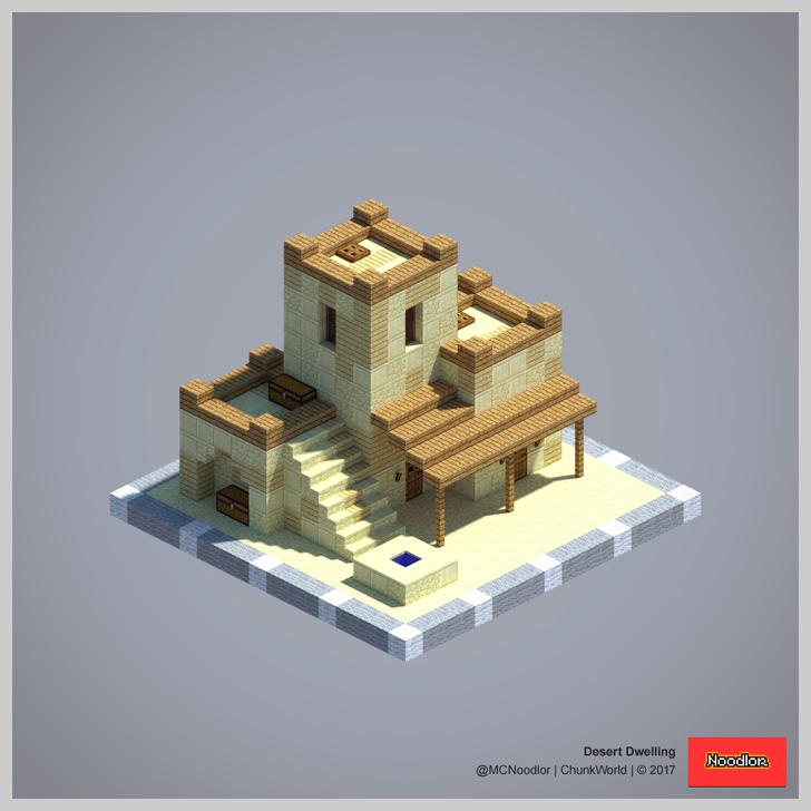 Minecraft Desert House on Minecraft House Designs