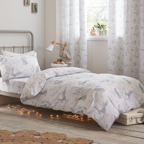 Hare Cotton Duvet Cover Set Bianca Cotton Size 120 x 150