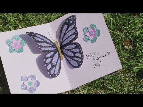 Art And Craft How To Make Hidden Message Pop Up Slider Card Mother S Day Card Teacher S Day Card Youtube Pop Up Flower Cards Card Tutorial Pop Up Cards