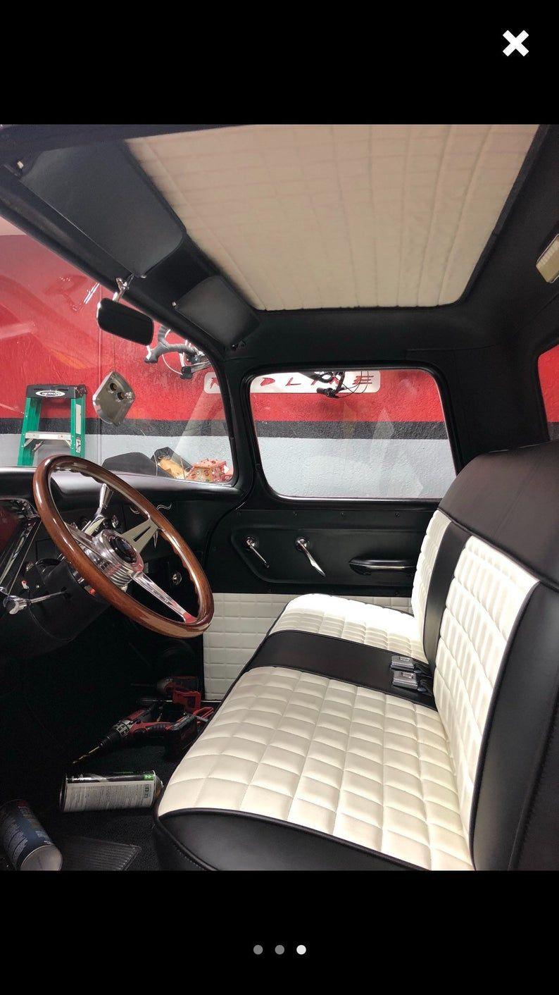 The Hooligan Ford 1973 1979 Open Back Custom Truck Etsy In 2020 Car Upholstery Custom Car Interior Custom Trucks