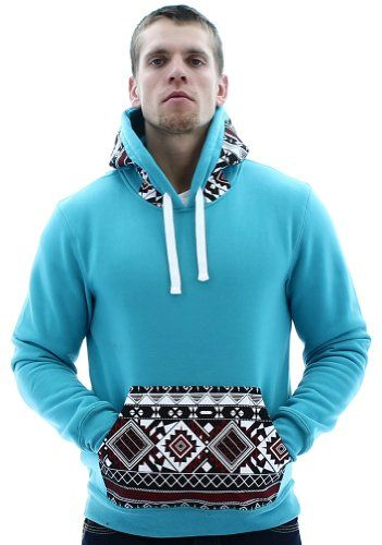 Escapism Men's Hoodie Aztec Print Hooded Sweatshirt Blue Size XXL Escapism,http://www.amazon.com/dp/B00GSTL5RO/ref=cm_sw_r_pi_dp_uTQGtb1JGQXNCCMH