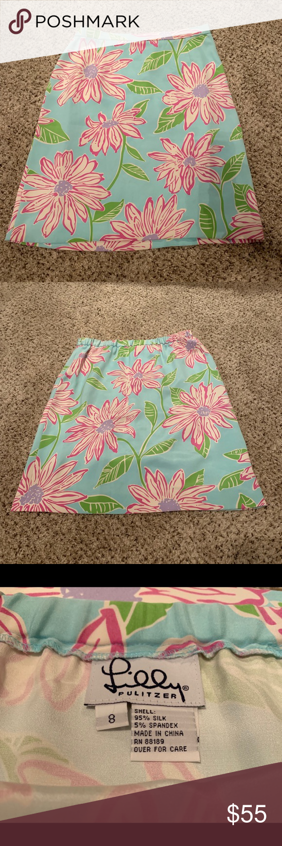 Lilly Pulitzer silk skirt Floral prints, Silk skirt, Pet