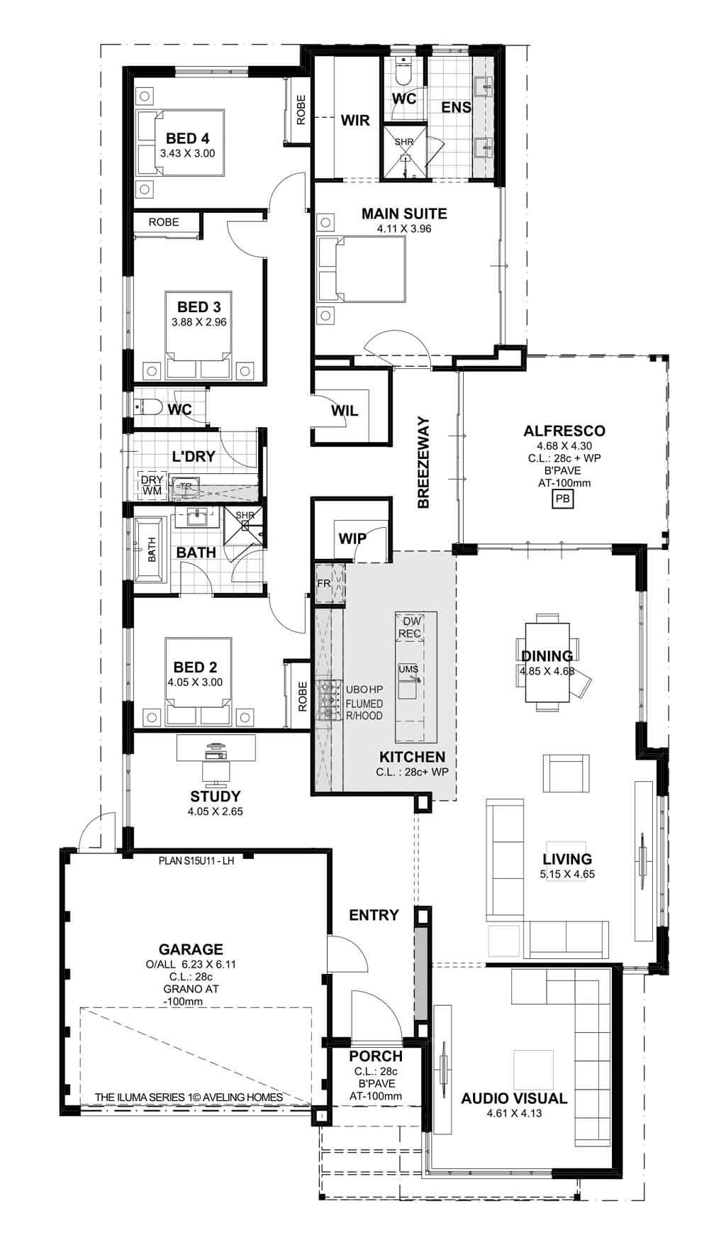 Aveling Homes Home Builders Perth House plans