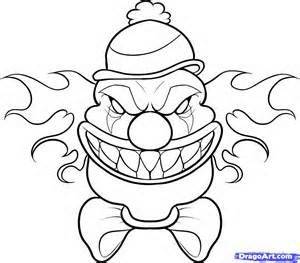 Pennywise The Clown Coloring Pages Bing Images Scary Clown