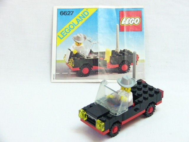 Lego 6352 Classic Town CARGOMASTER CRANE Complete w/Instructions ...