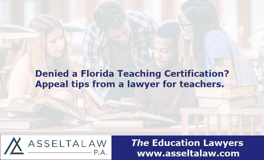 Denied A Teaching Certificate Advice From Lawyer For Teachers