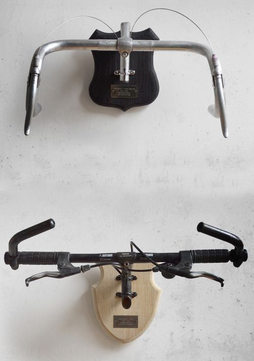 No need to ever say goodbye to your once loved but now defunct bike - commemorate your ride with Regan Appleton's wonderful and beautiful Bicycle Taxidermy.