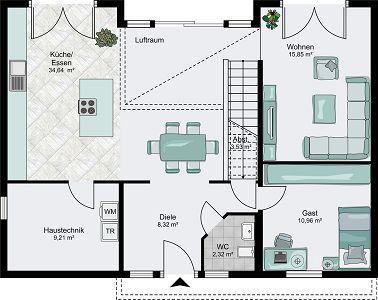 Architektenhaus helsinki einfamilienhaus im bauhausstil for Architektenhaus grundriss
