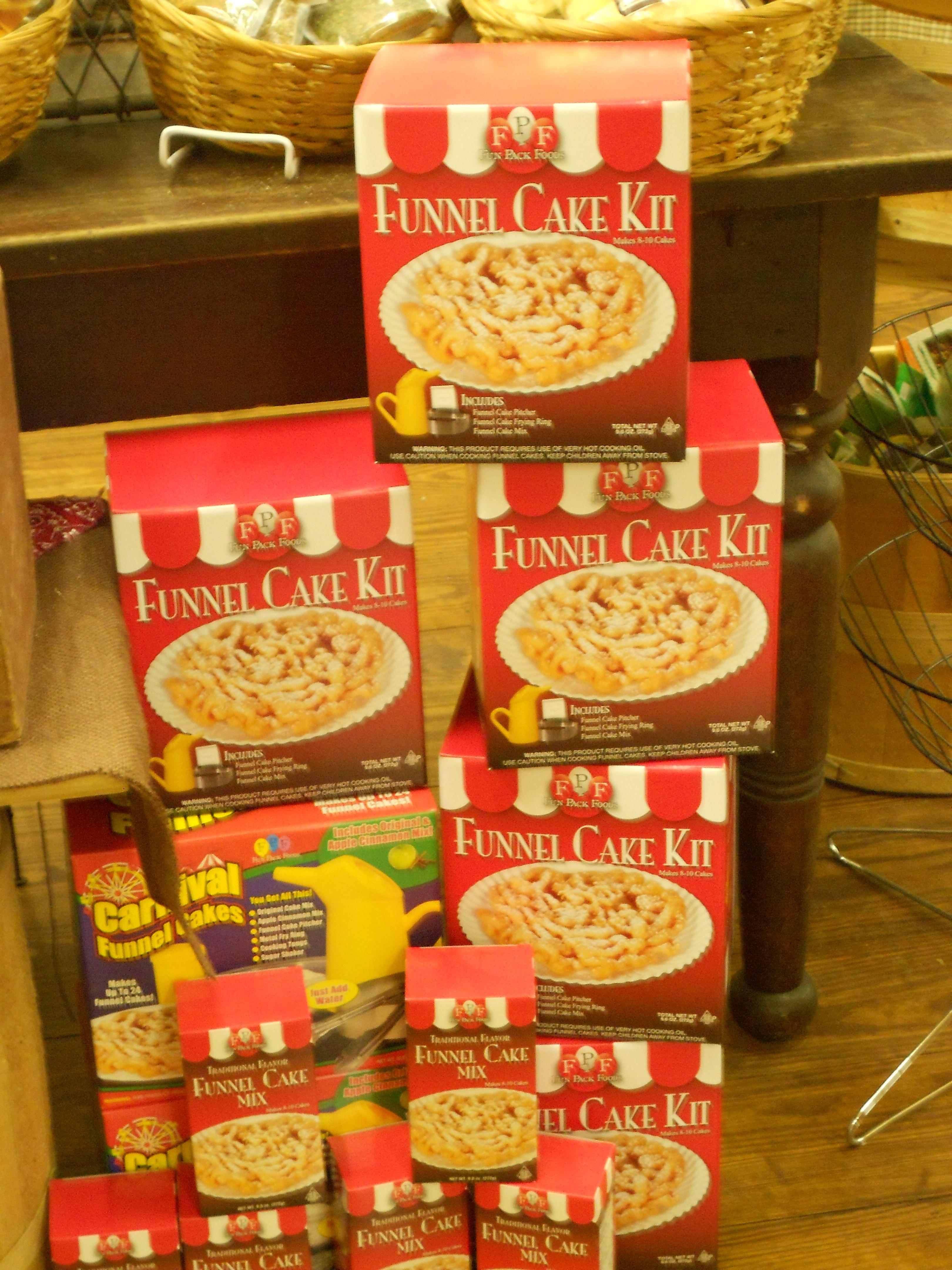 Funnel cake cake kit funnel cake fudge