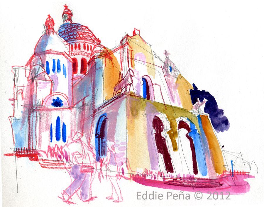 Sacre Coeur, Paris France...Eddie Peña