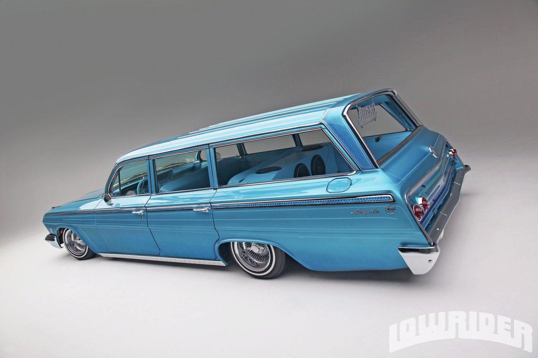 1962 chevrolet impala station wagon rear