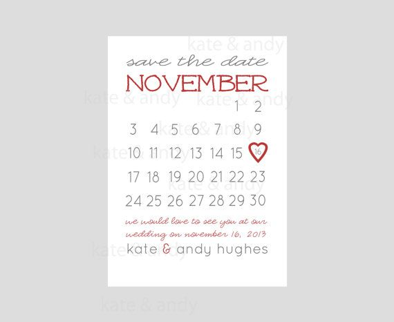 save the date save the date calendar card printable wedding