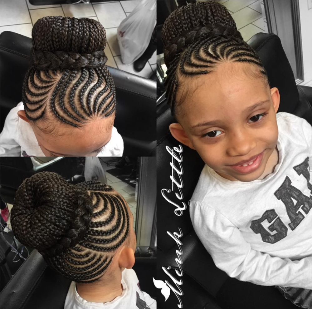 Black Braided Bun Hairstyles Adorable Styled By Hairbyminklittle Http Community