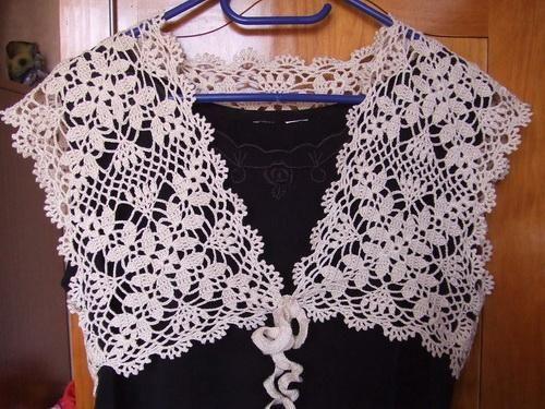 Crochet patterns: Free Crochet Pattern for Summer Wedding Shrug for ...