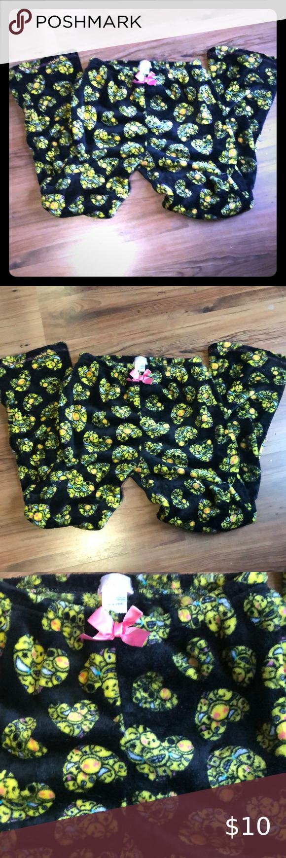 Girls Emoji Jammie Pants