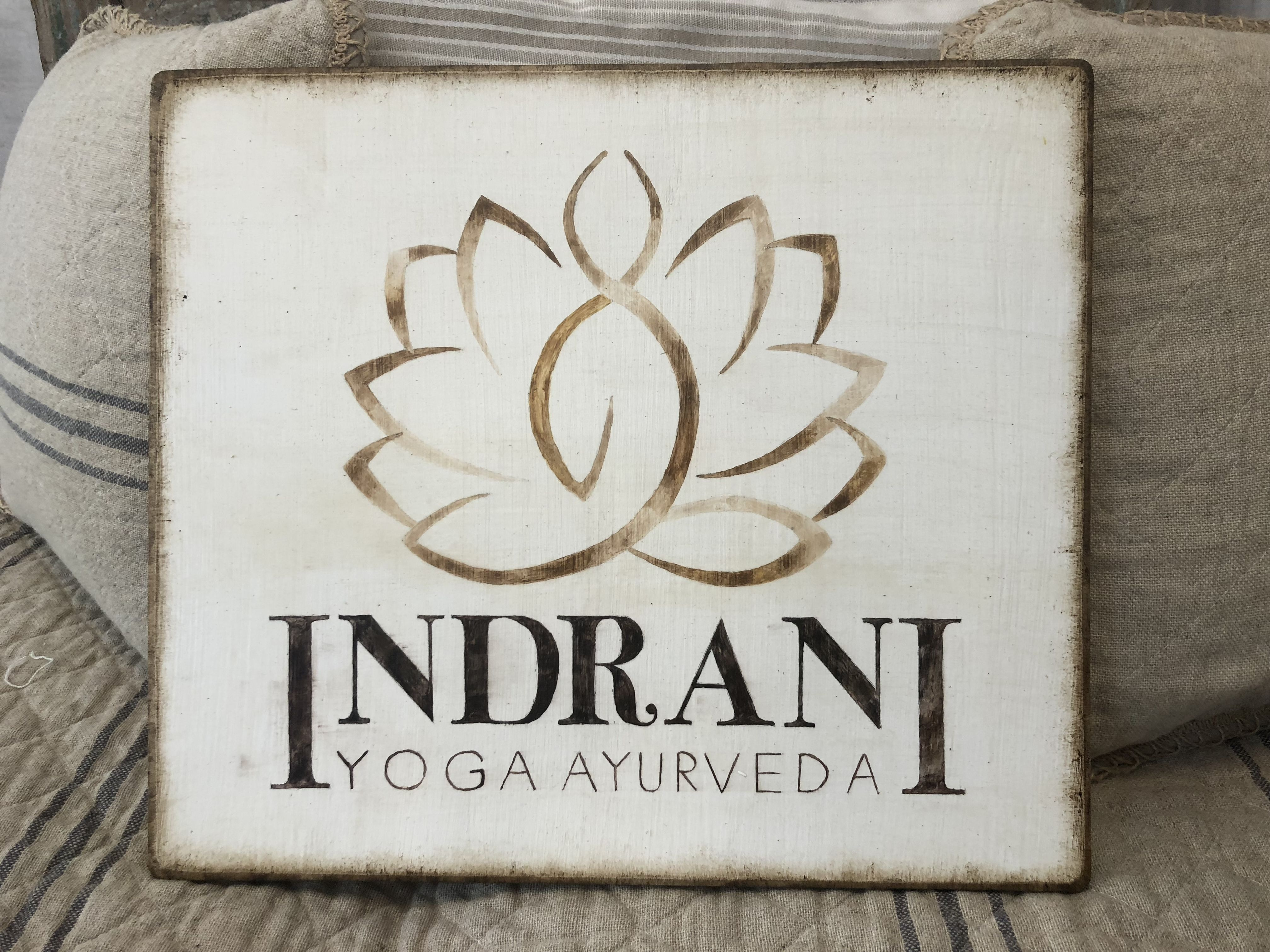 Arredamento Buongiorno Lodi dal logo originaleal quadrodipinto a mano su legno