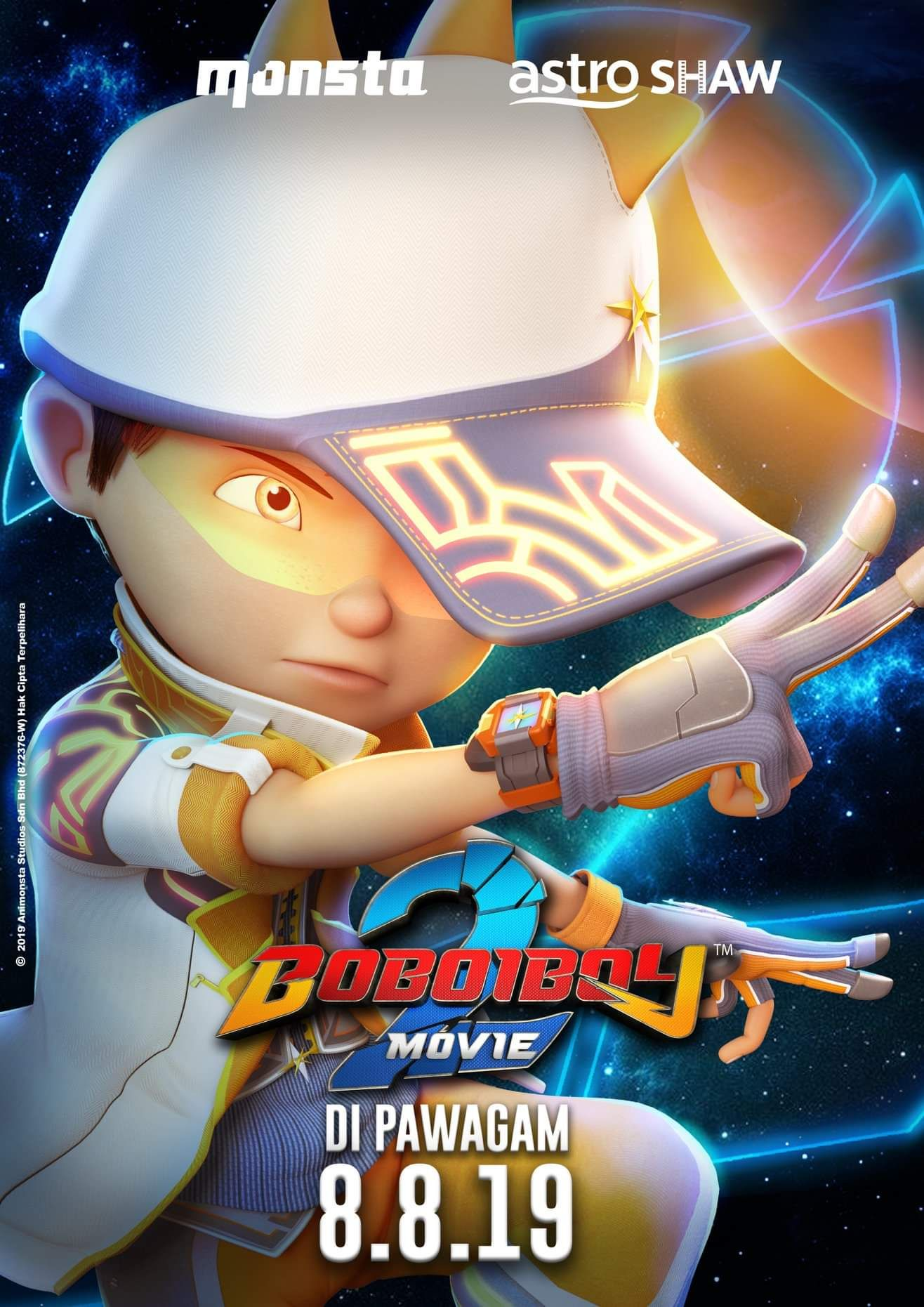 Pin oleh Itsuki Azhura di Boboiboy/Galaxy Animasi