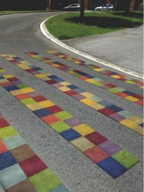 Ten More Creative Crosswalks Zany Zebra Crossings Zebra Crossing Street Painting Street Art