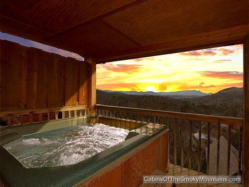 Pigeon Forge Cabin Mountain High View 1 Bedroom
