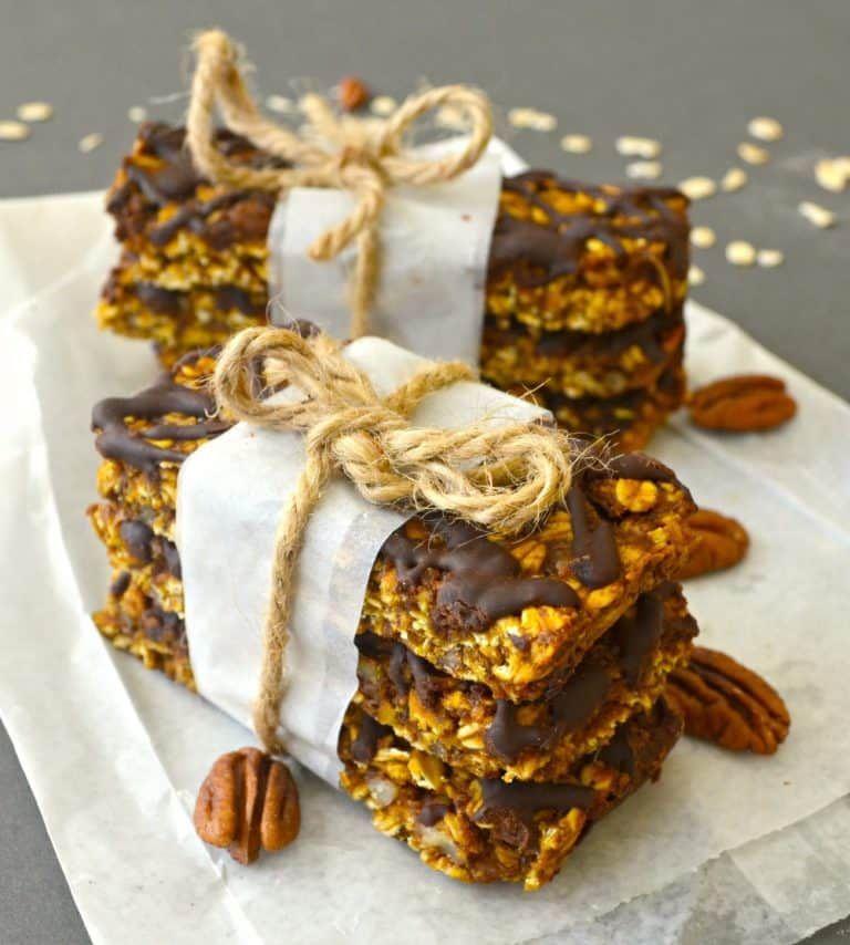 Pumpkin, Pecan & Chocolate Granola Bars Recipe Granola
