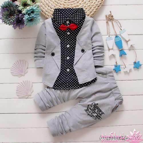Winter Kids Baby Boy Gentleman Shirt Tops+Long Pants Formal Party Clothes Set FF