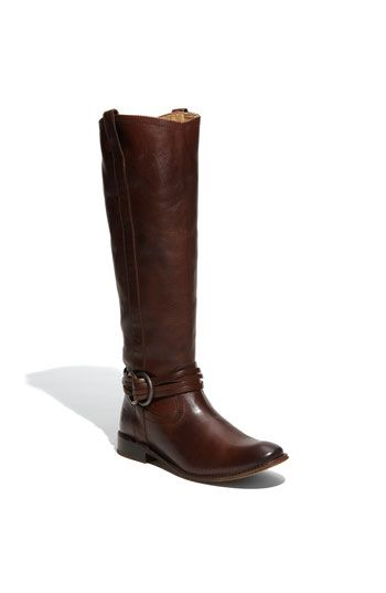 brown equestrian boots