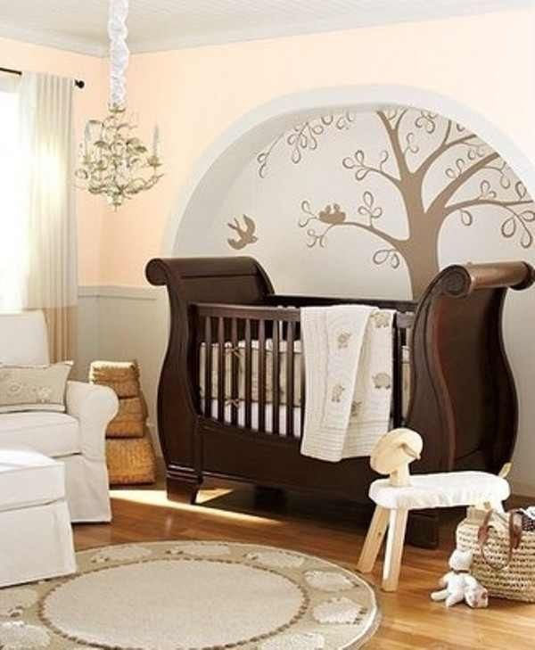 Delightful Cute Nursery Ideas Part - 1: Cute Nursery With Earth Tones