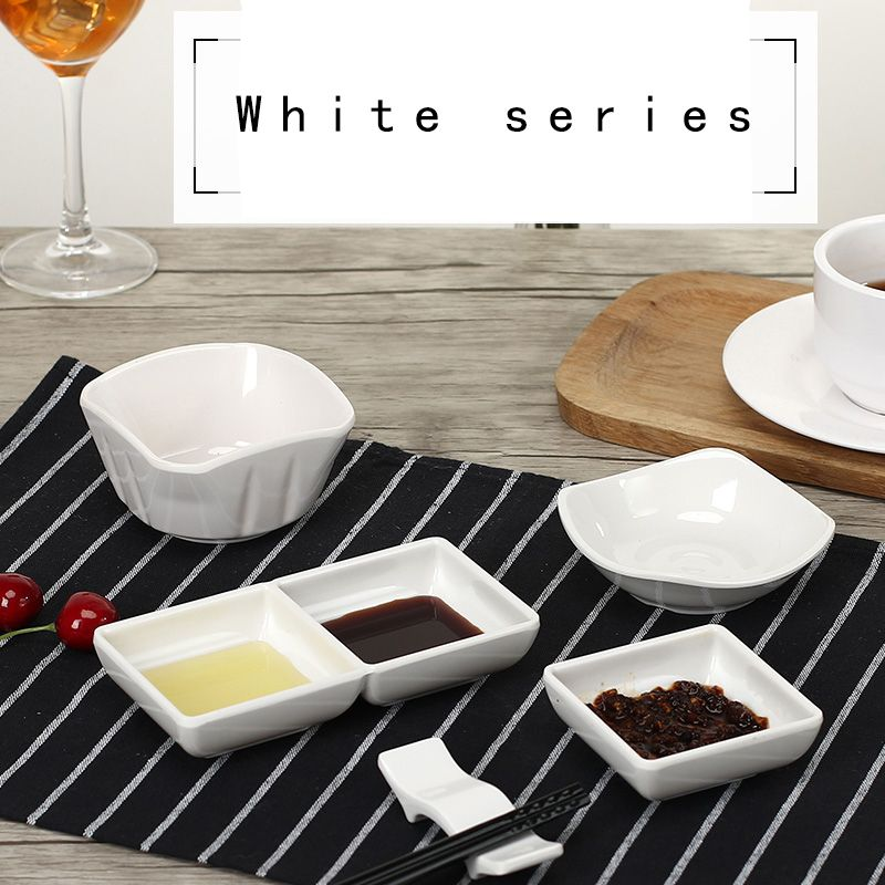 White melamine plastic Hot pot dish Imitation Ceramic tableware ingredients sauce dish dish oil sauce dish  sc 1 st  Pinterest & White melamine plastic Hot pot dish Imitation Ceramic tableware ...