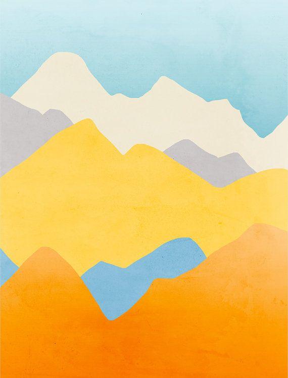 Colorful Wall Art Prints Set of 3, Art Prints Abstract, Large Wall ...