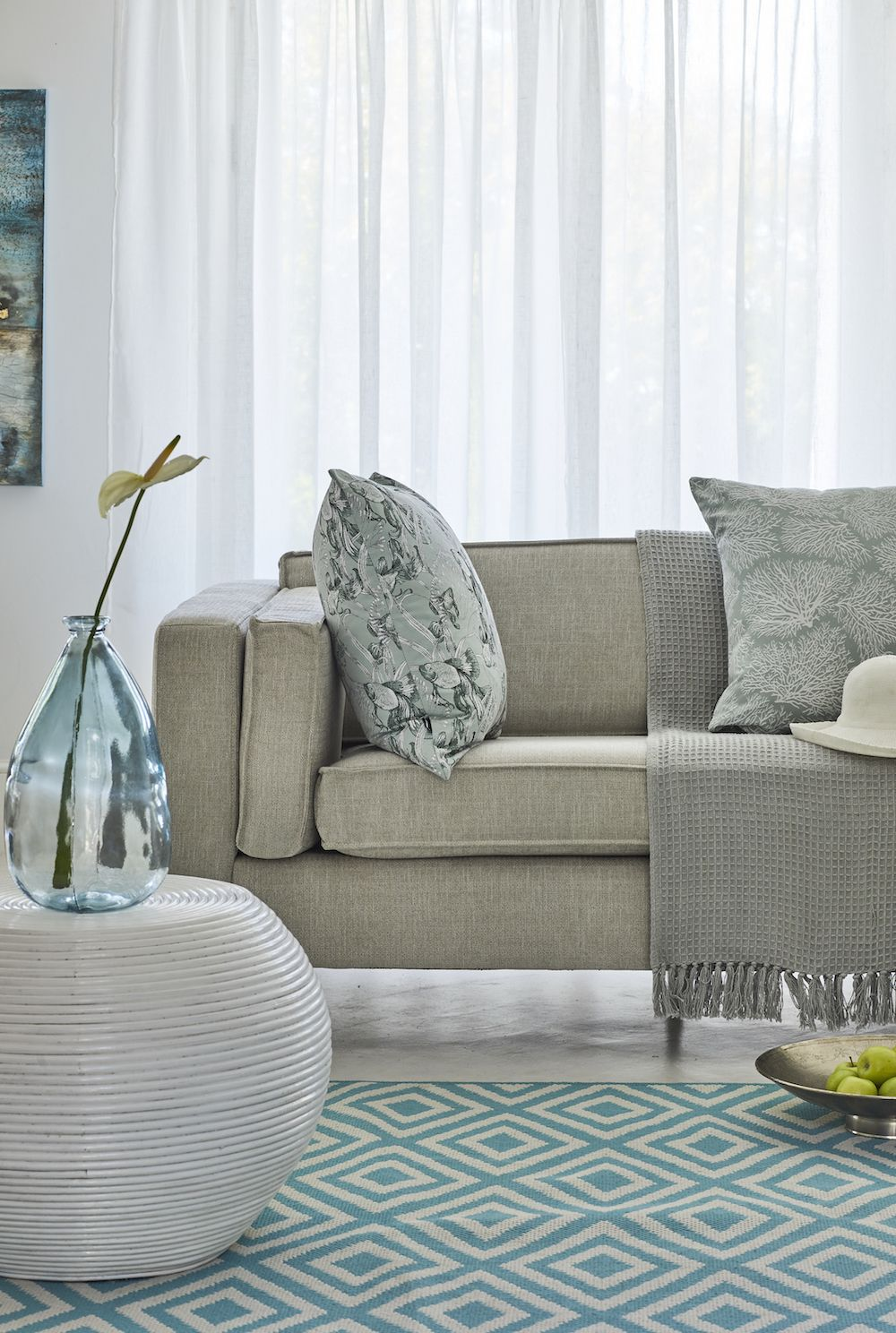Handmade and hand-upholstered by skilled South African ...