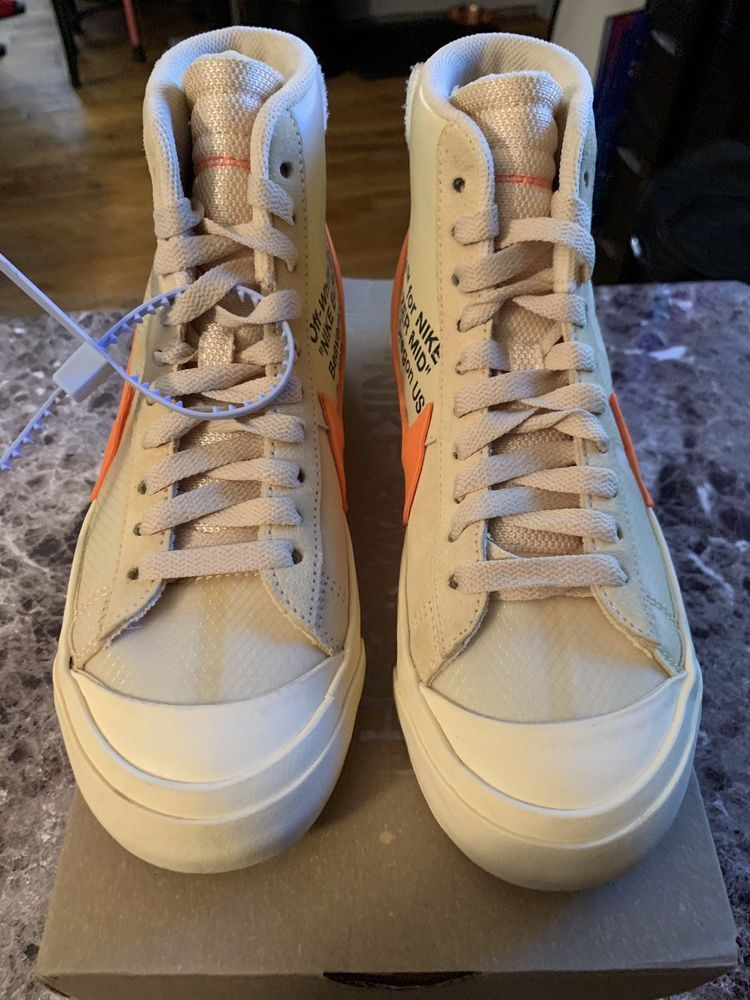 7a3b91a20cfc off white nike blazer all hallows eve  fashion  clothing  shoes  accessories
