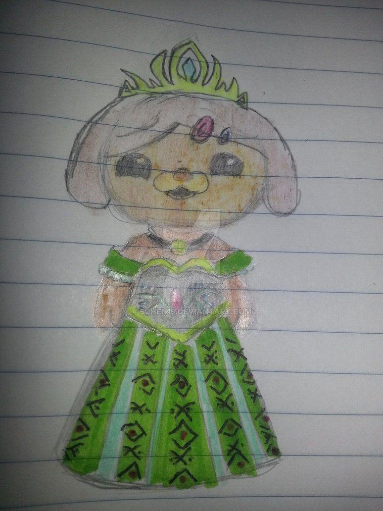 Dashi in Anna\'s coronation gown.   Octonauts Fan Art   Pinterest ...