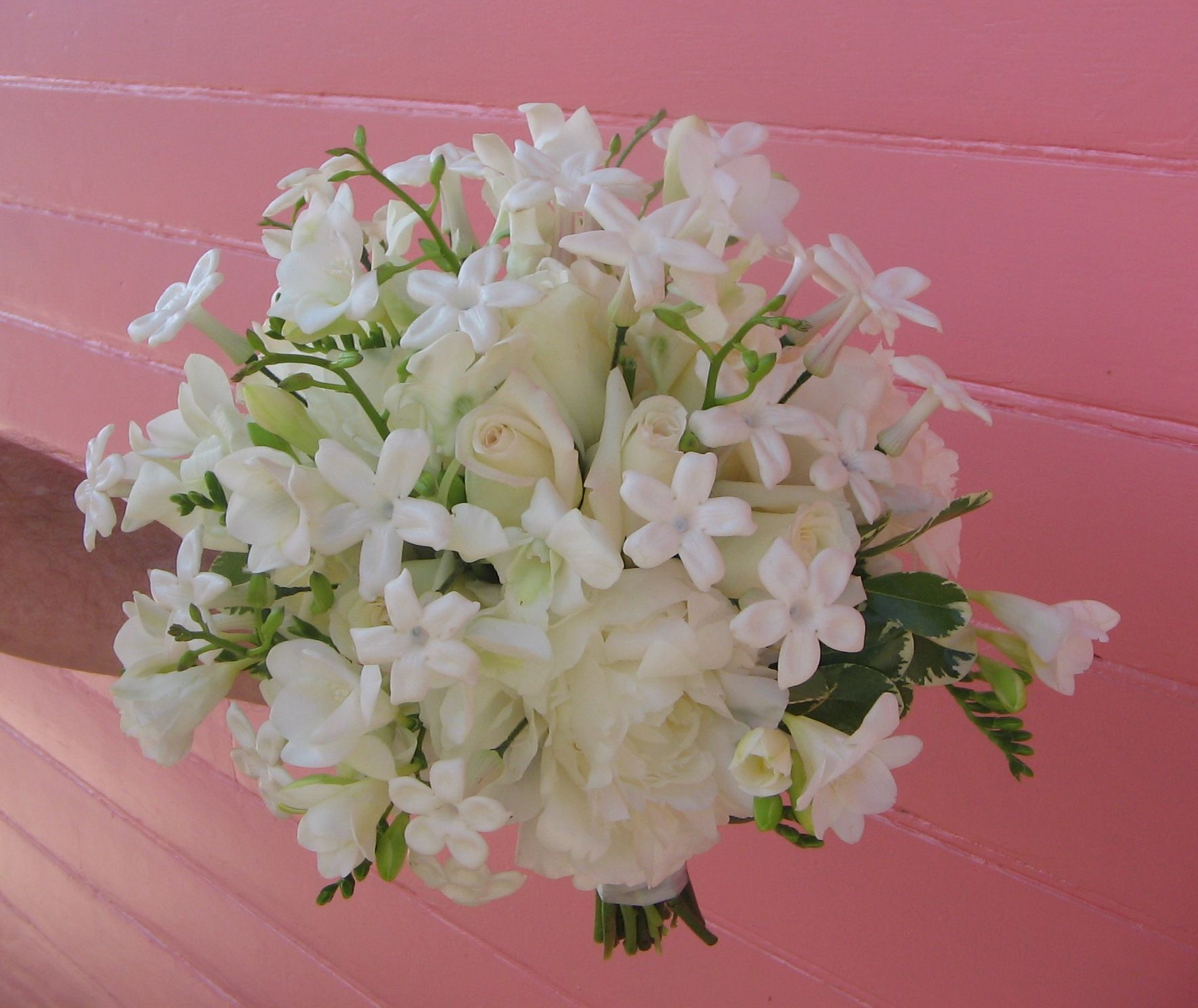 This Bouquet Includes Stephanotis A Wonderfully Fragrant