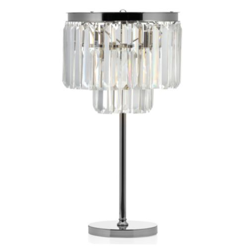 Luxe Crystal Table Lamp Crystal Table Lamps Lamp Crystal Lamp