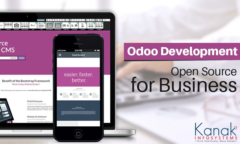 We are dealing in Odoo open source ERP development services