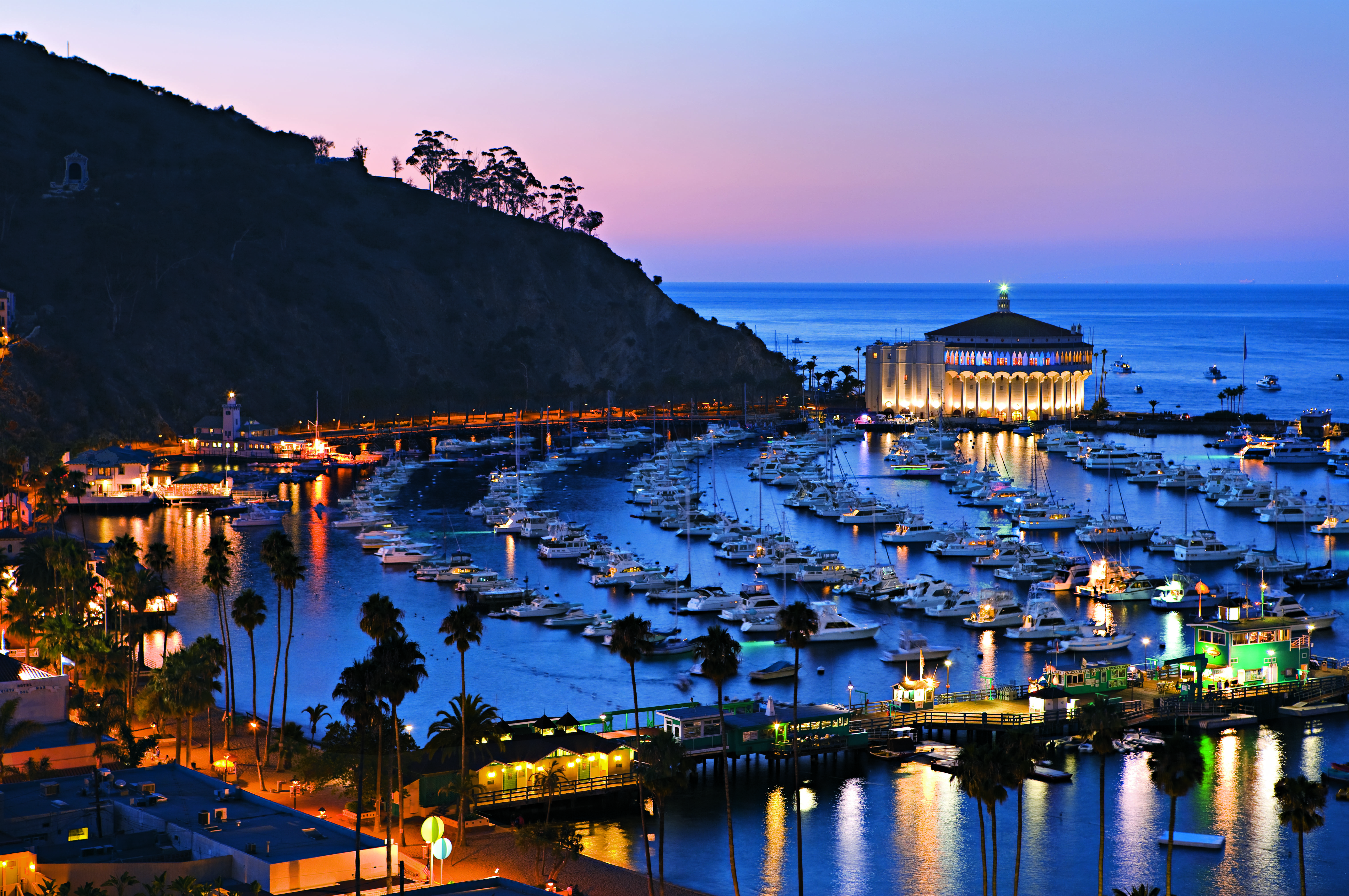 Just A 90 Minute Boat Ride From Newport Harbor Catalina Island Is
