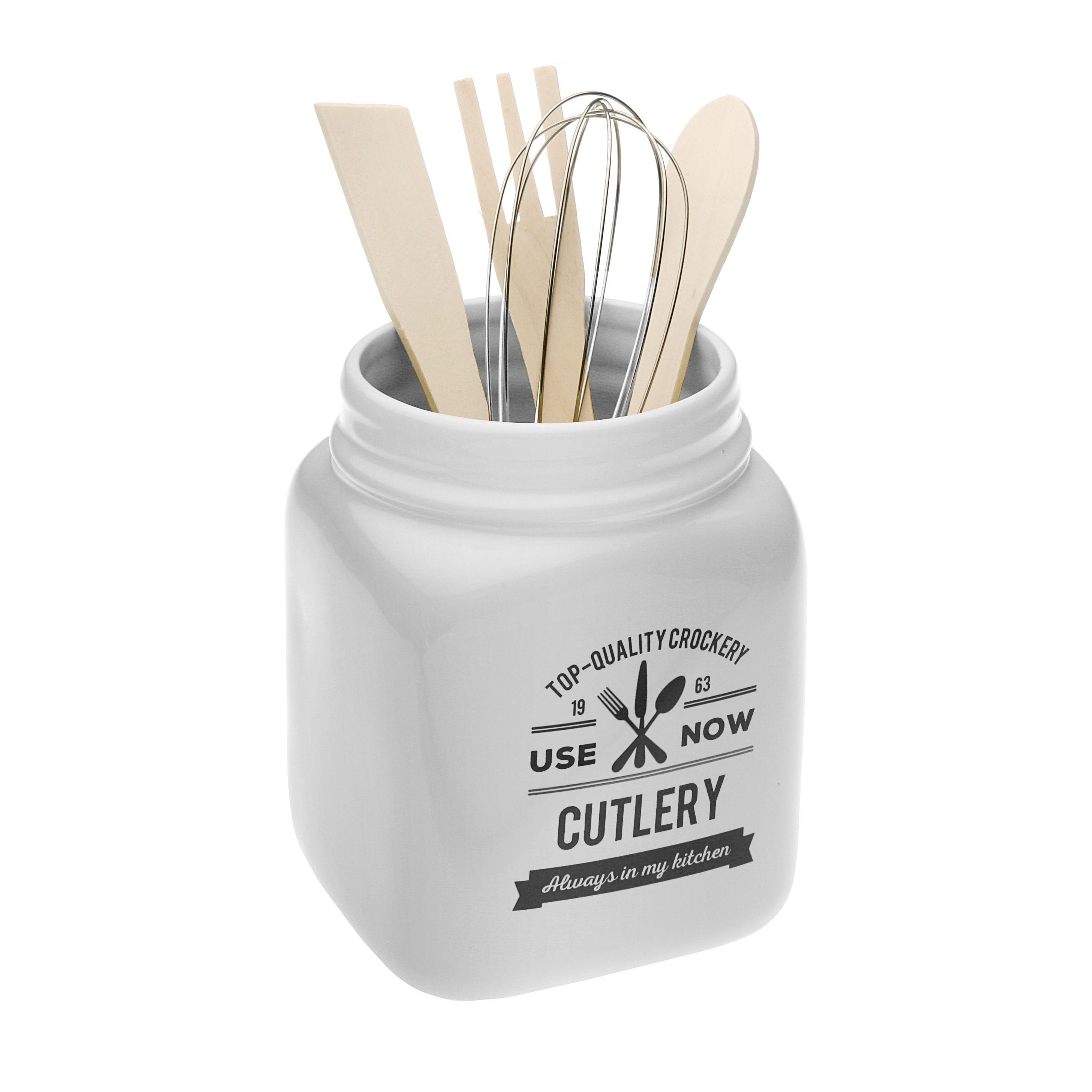 Portautensilios de cocina diseño vintage   para el 10 de mayo ...